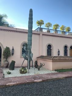 Some of the cacti that are situated around the stunning property. One Degree, New Perspective, Marrakech, Cacti, Fields, Journey, The Incredibles, Concept, Mansions