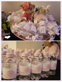 Ask Mi - como organizar chá de fraldas