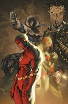 Flash and Villains. It is said that he has the best villains in the DC Universe.