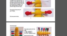 Caterpillar amigurumi crochet pattern