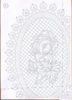 lace express especial 2007 - PAQUITA CALAHORRA - Álbuns da web do Picasa Embroidery Suits Design, Embroidery Designs, Bobbin Lacemaking, Bobbin Lace Patterns, Lace Tattoo, Quilling Patterns, Point Lace, Cut Work, Needle Lace