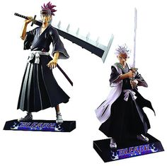 Bleach 7 Inch Encore Collection Action Figure Series 3 Renji and Toshiro set