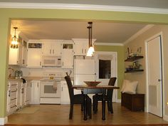 Artwork kitchen cabinets: an expert electrician offers tips about how to color kitchen cupboards. A guide with regard to contractors planning to adeptly color kitchen cabinets. Painting Oak Cabinets White, Painting Kitchen Cabinets, Kitchen Cabinetry, Open Cabinets, White Cabinets, Best Paint For Kitchen, Kitchen Paint, Kitchen Redo, Beach House Kitchens