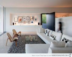 20 Charming Modern Open Living Room Ideas
