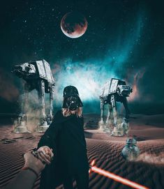 Follow me to Star Wars universe