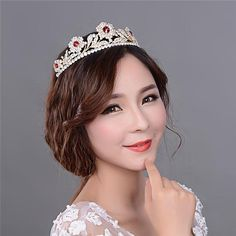 Beading Simple Girls Tiaras And Crowns With Red Rhinestones Beautiful Wholesale Diamonds Wedding Dancing Queen Hair Accessories Crowns Tiaras And Crowns Tiara Crown Wedding Bridal Online with 28.8/Piece on Dhdrhayz622722's Store | DHgate.com