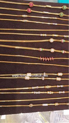 black beads or nallapusalu Gold Chain Design, Gold Ring Designs, Gold Bangles Design, Gold Earrings Designs, Gold Jewellery Design, Necklace Designs, Gold Necklace Simple, Gold Jewelry Simple, Gold Wedding Jewelry
