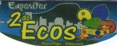 2do Ecos Anzoategui. Insignia de expositor.