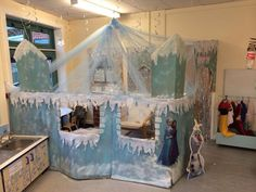 Ice castle for Frozen role play