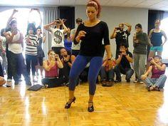 Jorjet dances Pachanga - YouTube