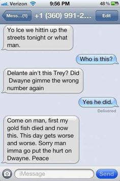 Funny Wrong Number Texts | Funniest Messages Sent To The Wrong People