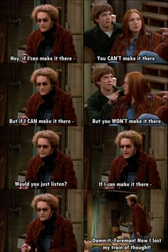 I can't remember the last time I saw this show, so I'm not certain the context of the meme but it's funny Hyde That 70s Show, Thats 70 Show, Gilmore Girls, That 70s Show Quotes, Movie Quotes, Funny Quotes, Im Surrounded By Idiots, Himym, Hilarious