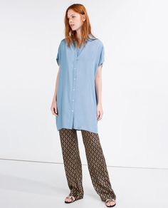 Image 1 of TUNIC WITH BACK DETAIL from Zara