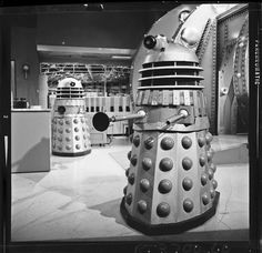 Behind the scenes on Patrick Troughton's first Doctor Who episode, shot fifty years ago today Power Of The Daleks, Dr Williams, Doctor Who Episodes, William Hartnell, Tv Doctors, Second Doctor, Bbc Drama, Sci Fi Comics, Dr Who