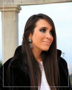 Maria Gaspar: WHITE SHIRT & JEWEL EARRINGS
