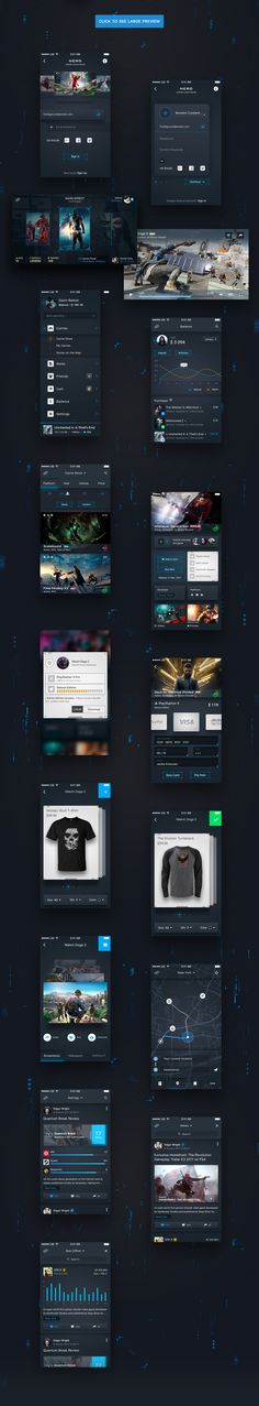 Unique, futuristic and modern new UI Kit design for iOS. NERD includes 16 screens for iPhone SE. Absolutely 100% shapes for retina.