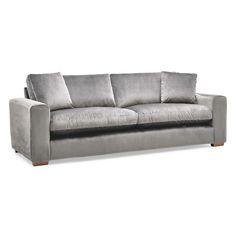 Porto Velvet 4 Seater Sofa Next Day Delivery