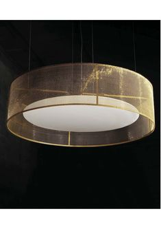 Rakumba MESH pendant - 1500mm in diameter with a choice of mesh. Perfect for large scale spaces www.ladgroup.com.au