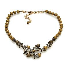 "Heidi Daus ""Vine and Divine"" Simulated Pearl Necklace"