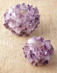 gorgeous amethyst votives  http://rstyle.me/n/qxyiapdpe