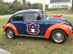 oh my gosh! I want my future car to look just like this. Sec Football, Auburn Football, Football Season, College Football, Auburn Alabama, Auburn Tigers, Auburn Vs, Iron Bowl, Go Big Blue