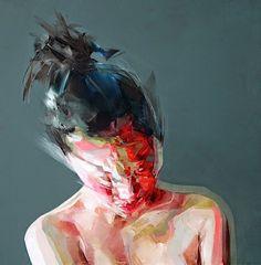 Abstrakte Kunst in Bewegung: Die weiblichen Akte von Simon Birch                                                                                                                                                      Mehr
