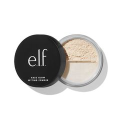 Cosmetics Halo Glow Setting Powder In Light Drugstore Powder, Best Drugstore Setting Powder, Sephora, Halo, Makeup Setting Powder, Elf Products, Beauty Products, Skin Shine, Shopping