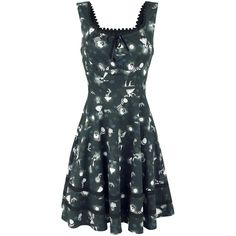 Black Gothic - Medium-length dress by Alice In Wonderland