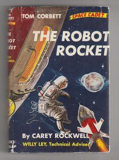 1950s Vintage Tom Corbett Space Cadet book, AnemoneReadsVintage @ Etsy, $11.95