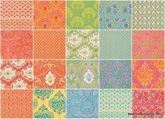 Tangier Ikat Jelly Roll - Dena Designs - Free Spirit Fabrics