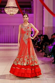 Umar Sayeed, Sana Abbas & Charisma @ International Bridal Fashion and Jewelry Week 2013 - Asian Wedding Ideas