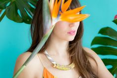 DIY Jewelry: For the Makers: Sugarcane Necklace