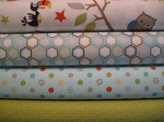 Riley Blake Fabric Bundle Life in The JungleHalf by FabricTree, $18.00