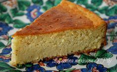 Tradicional torta dulce de elote | La Cocina Mexicana de Pily