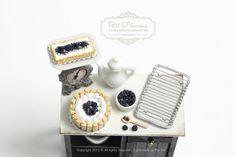 ♡ ♡ Wild Bluberry-Blackberry Charlotte Cake in 1/12th
