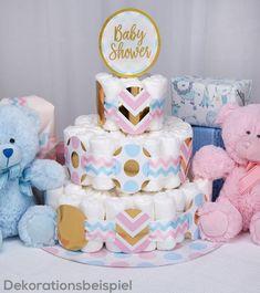6er Set Baby Blau Teddy Crystal Junge Boy Party Geburt Taufe Deko Geschenkidee