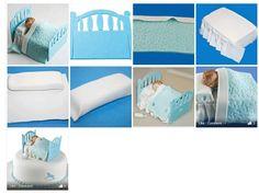 Baby bed. Source: DoLcI-TuToRiAl  http://www.facebook.com/media/set/?set=a.526581460689946.93672596.523590967655662=3