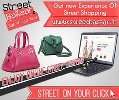 online shopping company,Streetbazaar.in - Online cheapest shopping portal for Handbags and women clutches. Free home delivery, All credit cards accepted, Easy Return policy