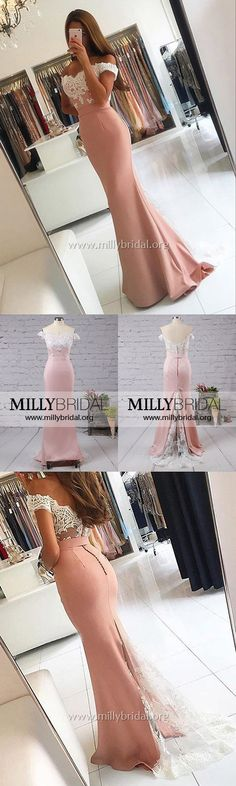 Prom Dresses Formal Evening Dresses Mermaid,Off-the-shoulder Party Dresses Tulle,Silk-like Satin Graduation Lace,Backless Military Ball Cheap Mermaid Style Prom Dresses, Sparkly Prom Dresses, Junior Prom Dresses, Simple Prom Dress, Prom Dresses For Teens, Elegant Prom Dresses, Backless Prom Dresses, Tulle Prom Dress, Mermaid Evening Dresses