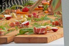 Alfresco dinner in the vineyard - Joy road Catering
