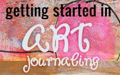 The Little Blue House: Join us for Art Journaling -- Tuesday 5/20
