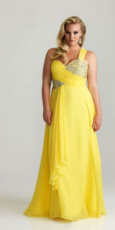 plus size prom dress. different color though