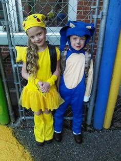 costume super mario sonic pokemon pikachu diy cute pokmon and