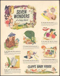 Clapp's Baby Foods, 1944