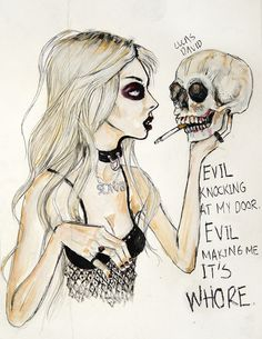 Lucas David's Taylor Momsen artwork