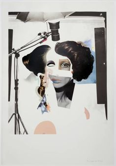 Richard Hamilton 'Fashion-plate', 1969–70 © The estate of Richard Hamilton