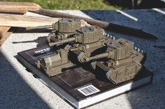 Valhallen KV-1Bis Ragnarok-Vanquisher Ptn Battletanks.