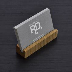 Business Card holder - Bamboo (long version)