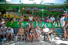 Only Buck Reilly could get in trouble at The Beach Bar on St. John. Been there?  #CrystalBlue