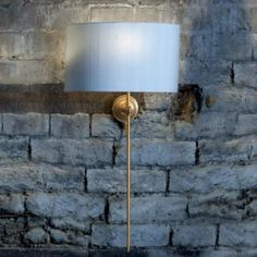 The Lymington wall light is an adjustable wall light that can be used as living room lighting, dining room lighting or even bedroom lighting. Its simple, elegant shape means it can be a subtle addition to a room, although by using a contrasting shade, it can also become a feature to be proud of. www.jim-lawrence.co.uk
